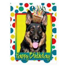 0a0c0ed96ad88ee84fa884974c13dd5f happy birthday card german shepherd fb special occasions