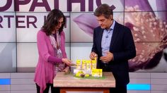 Dr. Oz's Homeopathic Remedy for Stress Relief