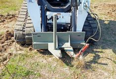 Other Heavy Equipment Attachments Post Puller Attachment Heavy Equipment Attachments Skidsteer Skid Steer Tree