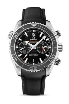 OMEGA Seamaster Planet Ocean 600m Chronograph - Black Dial – WatchObsession £4395.00 Available to buy