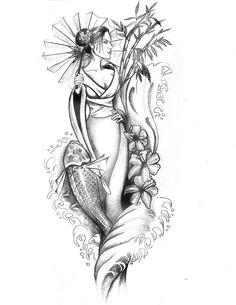 Geisha 2.0 by artfullycreative on DeviantArt