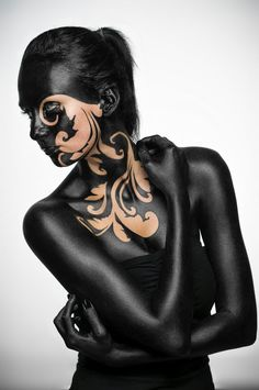 Jacek Woźniak Fotografia Portretowa i Muzyczna: Sandra Body Painting | Fotografia Portretowa i Muzyczna