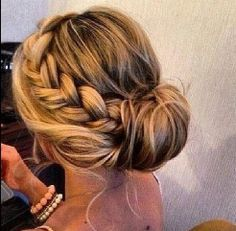 hairstyle for long hair updo hairstyle More