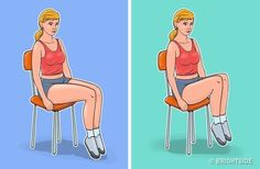 Exercises for a Flat Belly and a Thin Waist You Can Even Do While Sitting in a Chair 7 Exercises for a Flat Belly and a Thin Waist You Can Even Do While Sitting in a Exercises for a Flat Belly and a Thin Waist You Can Even Do While Sitting in a Chair Exercise While Sitting, Rectus Abdominis Muscle, Chair Exercises, Thin Waist, Abdominal Exercises, Weight Loss Help, Lose Weight, Going To The Gym, Easy Workouts