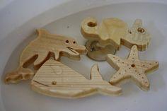 WOODEN BATH Toys - 3