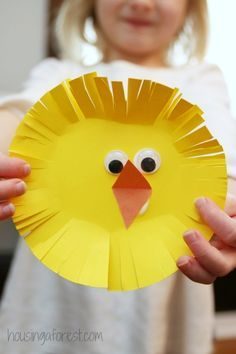 Simple Easter Chicks ~ an easy Easter craft for kids