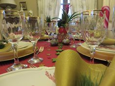 Christmas Wine Glass, Table Decorations, Tableware, Christmas, Home Decor, Xmas, Dinnerware, Decoration Home, Room Decor