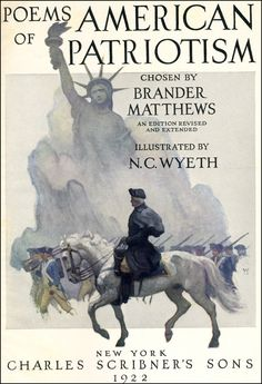 "Illustration from ""Poems of American Patriotism,"" chosen by Brander Matthews (1922)"
