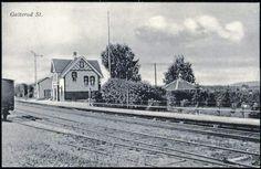 Galterud stasjon Sør-Odal kommune Hedmark fylke jernbanestasjon