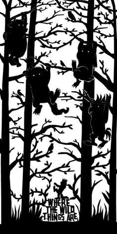 Where the Wild Things Are by Dan Sherratt