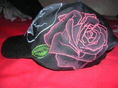 "Black Cap ""Skull and Roses"" 3ªfoto"