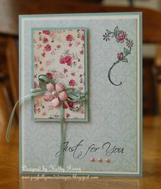 One Sheet Wonder 6x6 - Card #6 by rosekathleenr - Cards and Paper Crafts at Splitcoaststampers
