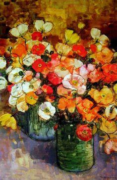 Poppies 1. William Boissevain