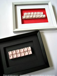 #DIY Valentine's Keys // #Upcycle This! 7 Ways to Reuse an Old Computer