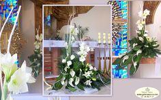 amarylis pawlosiow Iglesias, Table Decorations, Plants, Home Decor, Floral Arrangements, Weddings, Decoration Home, Room Decor, Plant