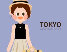 내 @Behance 프로젝트 확인: \u201c2016 TOKYO girl's fashion in S/S\u201d https://www.behance.net/gallery/38418831/2016-TOKYO-girls-fashion-in-SS