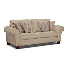 Living Room Furniture Fletcher Full Sleeper Sofa At
