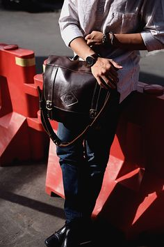 Sling Bag Leather for working day ! Available at @murdocleather