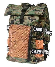 Candy Stripper(キャンディストリッパー)の「CANDY ROLLTOP BACKPACK(バックパック/リュック)」|グリーン系カモフラージュ