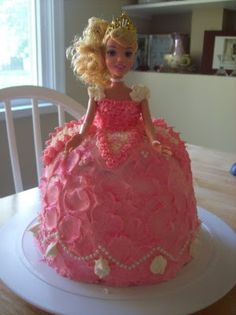 Sleeping Beauty Cake  My Mom Totally Made This For Me When I Was Little!