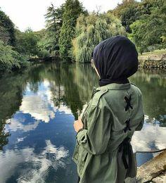 Military khaki hijab style www. Modest Fashion Hijab, Hijab Chic, Muslim Fashion, Hijabi Girl, Girl Hijab, Hijab Outfit, Hijab Wear, Hijab Bride, Wedding Hijab