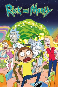 Rick and Morty Maxi Poster