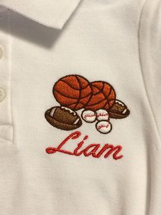Polo style personalized shirts by FleurDeLisEmbroidery on Etsy https://www.etsy.com/listing/197206016/polo-style-personalized-shirts