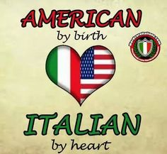Born in America with 100% Italian Blood  I am a Canadian with Italian Blood running . in my vaines