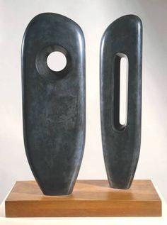 Dame Barbara Hepworth, Two Figures (Menhirs), 1964