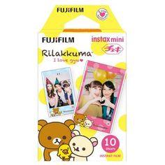 Fujifilm Instax Mini Film Rilakkuma I Love Gyu by MaterialDream Instax Mini Camera, Fuji Instax Mini, Fujifilm Instax Mini 8, Poloroid Camera, Polaroid, Instax Mini Film, Instant Film Camera, Diy Photo Booth, Thing 1