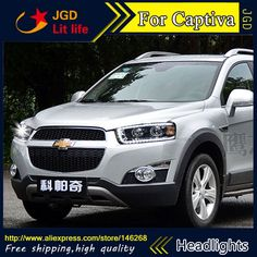 703.00$  Watch now - http://ali2hf.worldwells.pw/go.php?t=32751702702 - Free shipping ! Car styling LED HID Rio LED headlights Head Lamp case for Captiva Bi-Xenon Lens low beam 703.00$