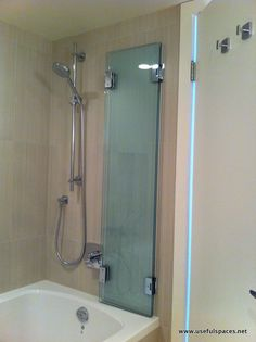 fold away shower door - Google Search