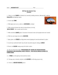 Video Worksheet (Movie Guide) for Bill Nye - Light and ...