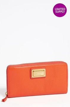 MARC BY MARC JACOBS 'Vertical Zippy' Leather Wallet available at #Nordstrom