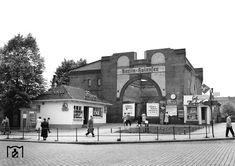 1956 Ruine Bahnhof Berlin-Halensee