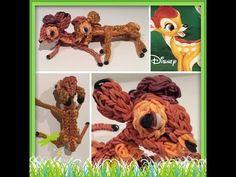 Rainbow Loom Bambi and Feline - YouTube