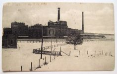 Caro Sugar Factory, Caro, Mi Postcard Early Undivided Back Card - Rare in Collectibles, Postcards, US States, Cities & Towns, Michigan   eBay