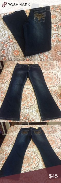 South Pole jeans Dark wash South Pole bootcut jeans , excellent used condition South Pole Jeans Boot Cut