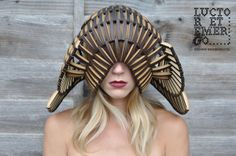Headpiece Artwork by UK designer Stefanie Nieuwenhuyse http://www.behance.net/stefanienieuw