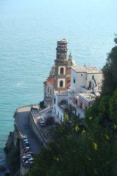 Walks on the Amalfi Coast. Atrani (town), Salerno (province), Campania (region), Italy (country)
