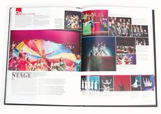 Yearbook Spread - fun and colorful - great use of design principles