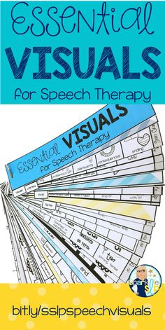 Have you collected and created a variety of visuals for your speech therapy sessions that you just can't live without?  I did and the pile just kept growing. Do you wish they were all uniform and ready to grab and go?  This has been a goal of mine for many years and I finally created my most used visuals for speech therapy on handy strips. I know they will aid my therapy as I push services into the classroom.