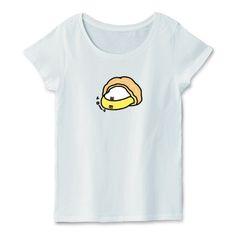 そこには何かいるモン!? in ツインシュー Illustrated by ショウタロー #Tシャツ #tshirts #イラスト #デザイン #シュークリーム #Creampuff