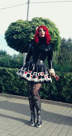Anastasia Volodina as Red Queen