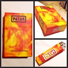Cibox(cigarete box) NINE INCH NAIL