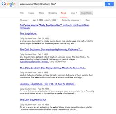SearchReSearch: A note about searching Google Scanned Newspaper archives