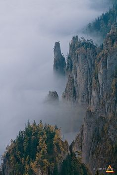 Ceahlau Mountains, Romania Reminds me of the floating mountains in AVATAR, fabulous!