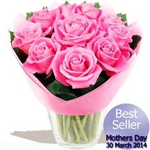 Pretty Pink Mothers Day Roses Mothers Day Roses, Gifts Delivered, Flowers Delivered, Pink Roses, Pretty In Pink, Floral Arrangements, Bouquet, Chocolates, Handmade