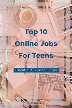 There are lots of online jobs for teens out there these days. This article presents ten different options and provides safety advice for teenagers and parents. Writing Sites, Online Writing Jobs, Online Income, Earn Money Online, Online Jobs For Teens, Survey Sites, Home Jobs, Make Money From Home, Online Business