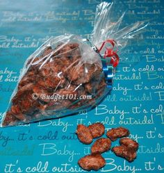 Candied Walnuts, Almonds or Pecans- Cinnamon spiced, sweet and crunchy- an irresistible combination for snacking year round. This simple recipe makes a delicious well received gift... (click on photo for more)